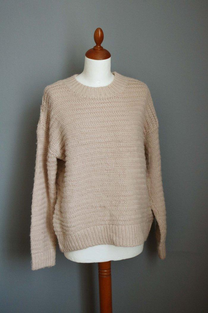 H&m πουλοβερ σε απαλη blush pink/nude αποχρωση