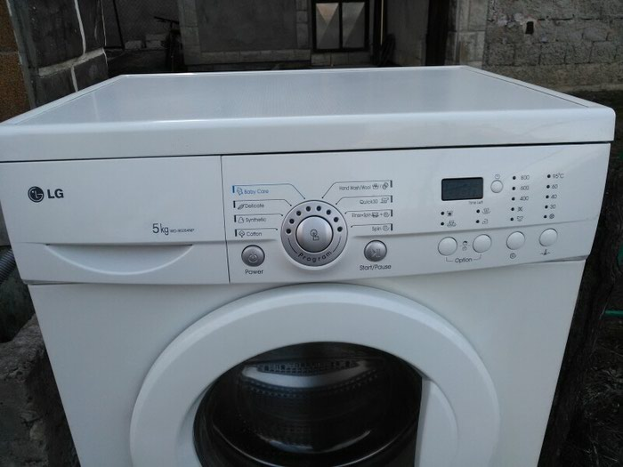Frontalno Automatska Mašina za pranje LG 5 kg.. Photo 0