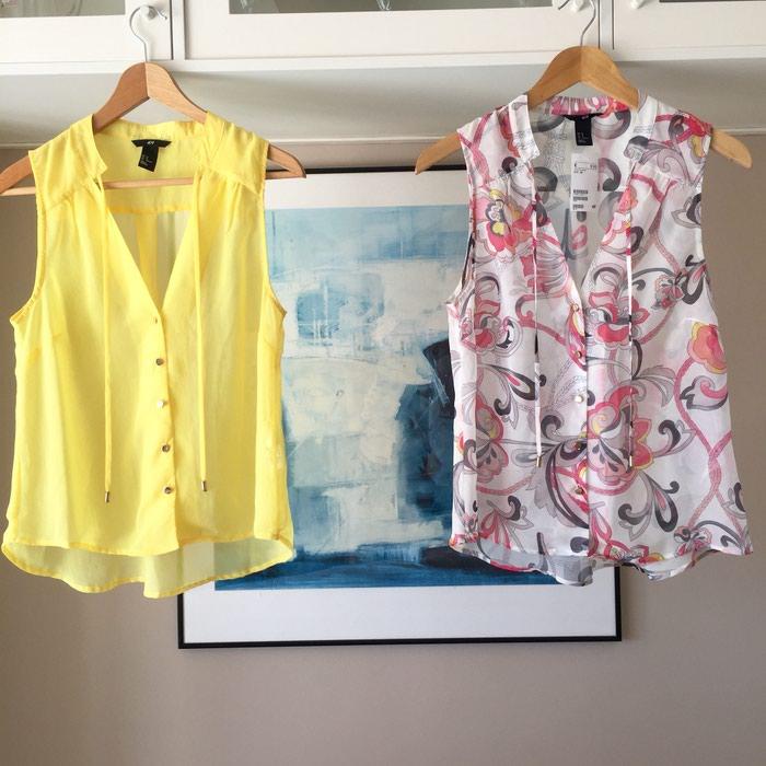 2 ολοκαίνουργιες αμάνικες πουκαμίσες. Photo 3