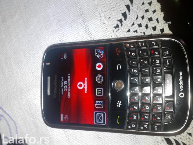 Blackberry 9000 stanju,radi na vipu