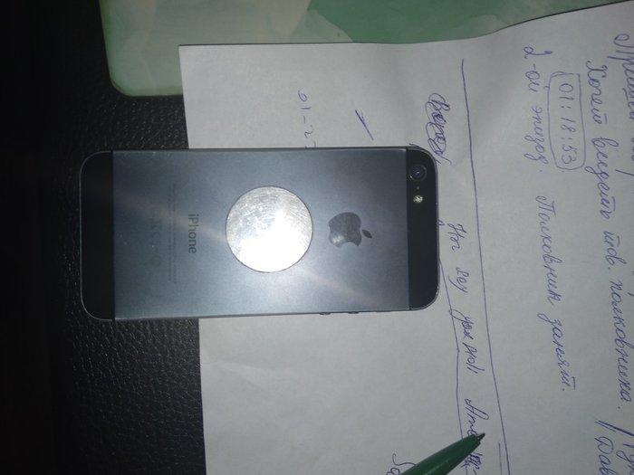 Bakı şəhərində Iphone 5,16 gb. Normal  veziyetde,Gutuda adapter var. Problemsiz