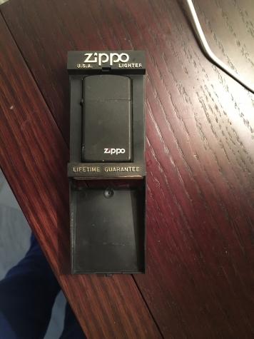 Άλλα - Αθήνα: Zippo αναπτηρας μαυρος ματ