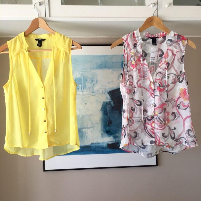 2 ολοκαίνουργιες αμάνικες πουκαμίσες. Photo 7