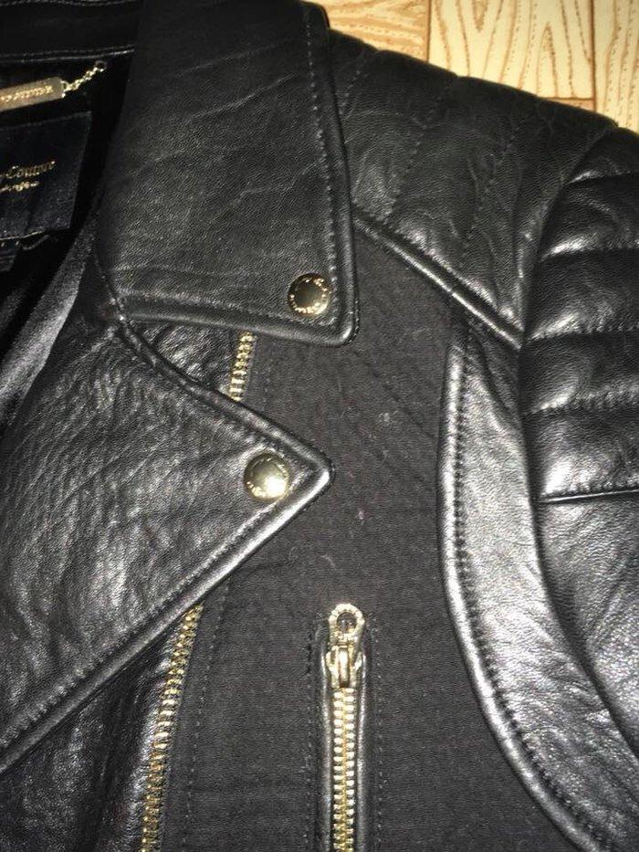 Δερματινο μπουφαν Juicy couture size L μια φορα φορεμενο. . Photo 1