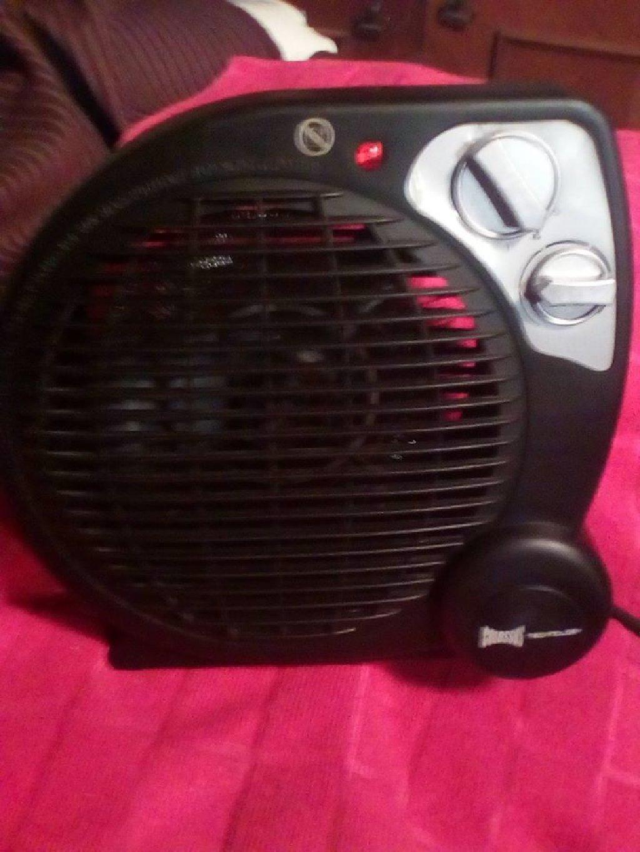 Ventilator,/grejalica,sa termostatom,nova nekoriscena