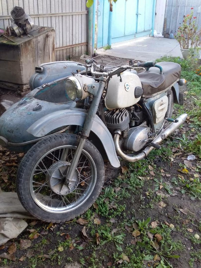 Восстановление Иж Юпитер 3: вторая жизнь советского мотоцикла | 933x700