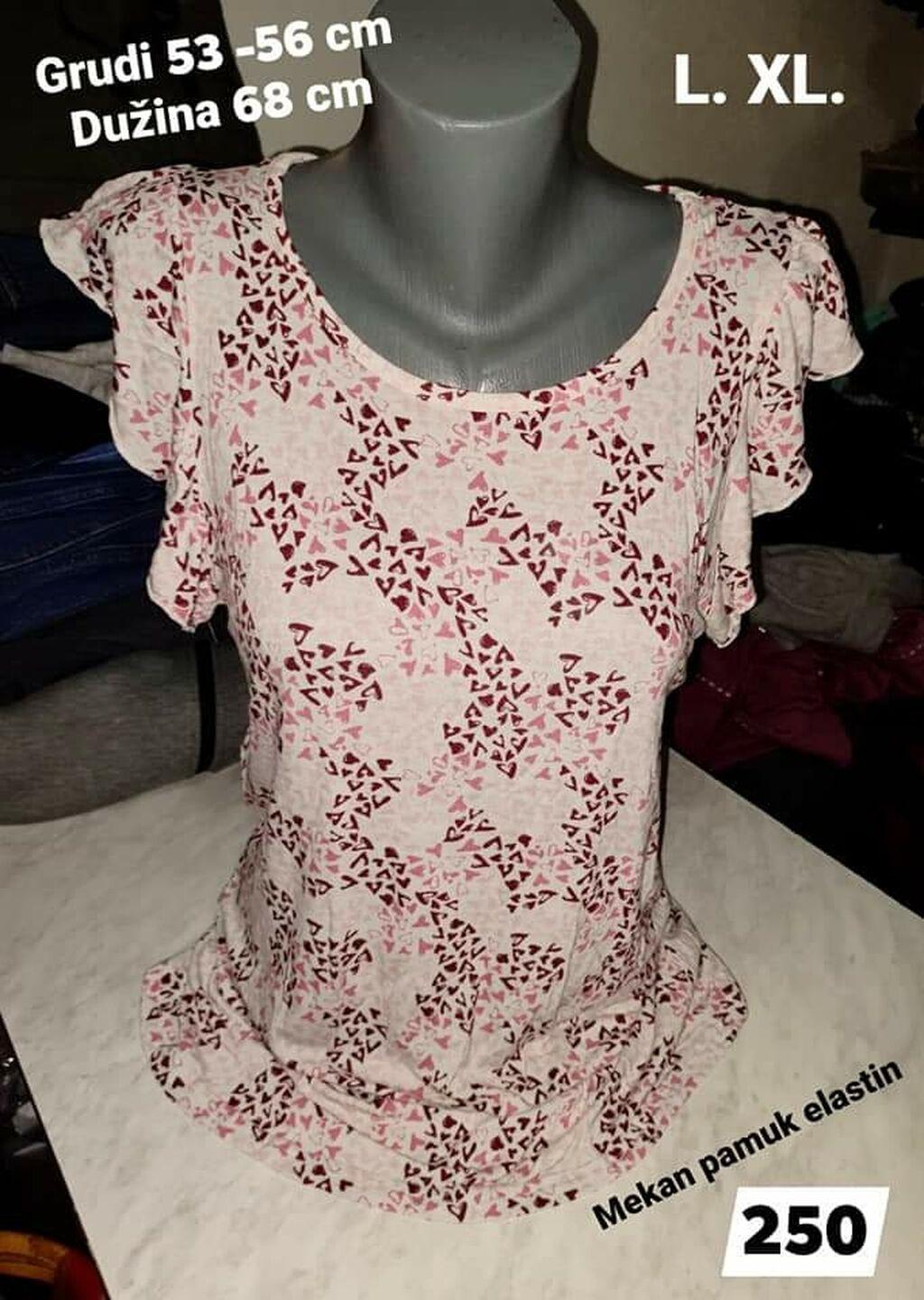 Ženske majice - Leskovac: Majica L. XL  Pamuk elastin