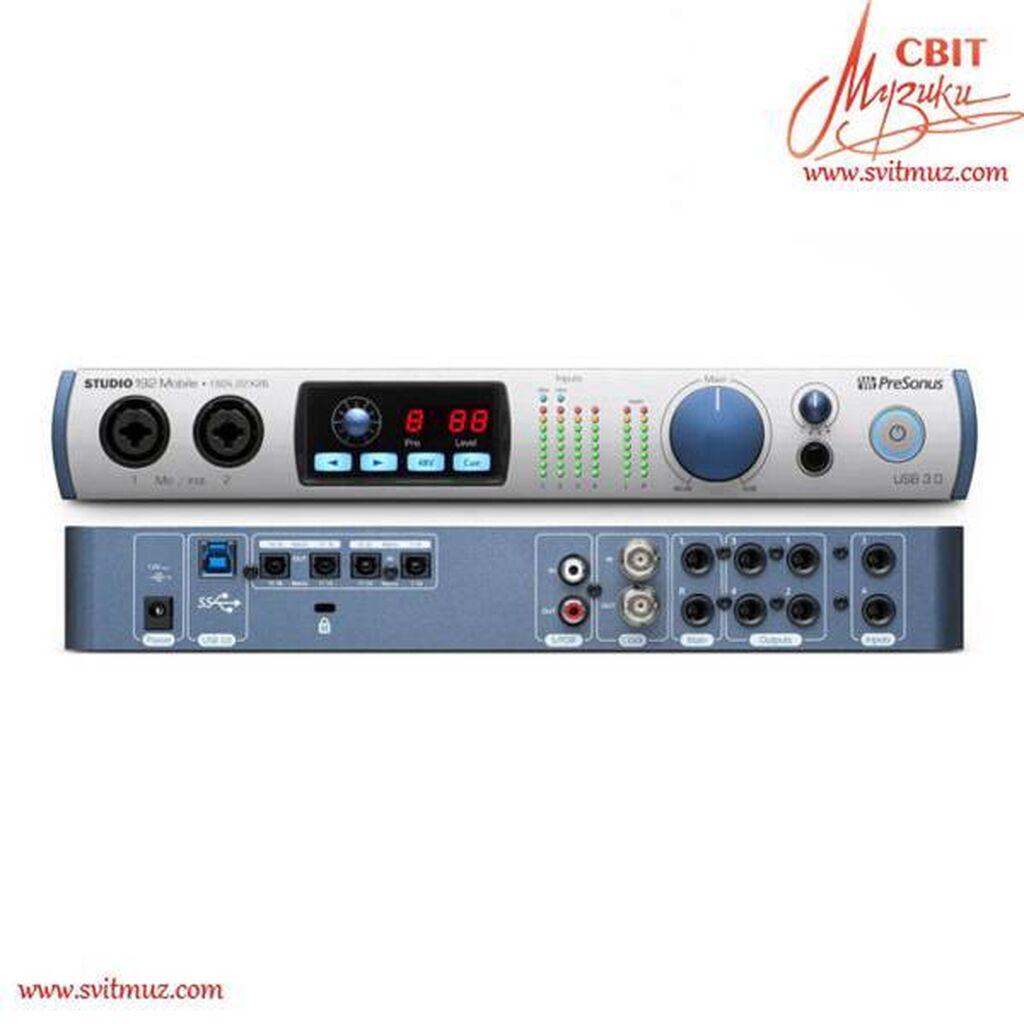 Аудио интерфейс PRESONUS STUDIO 192 Mobile аудио интерфейс USB 3.0 | Объявление создано 13 Сентябрь 2021 10:22:23: Аудио интерфейс PRESONUS STUDIO 192 Mobile аудио интерфейс USB 3.0