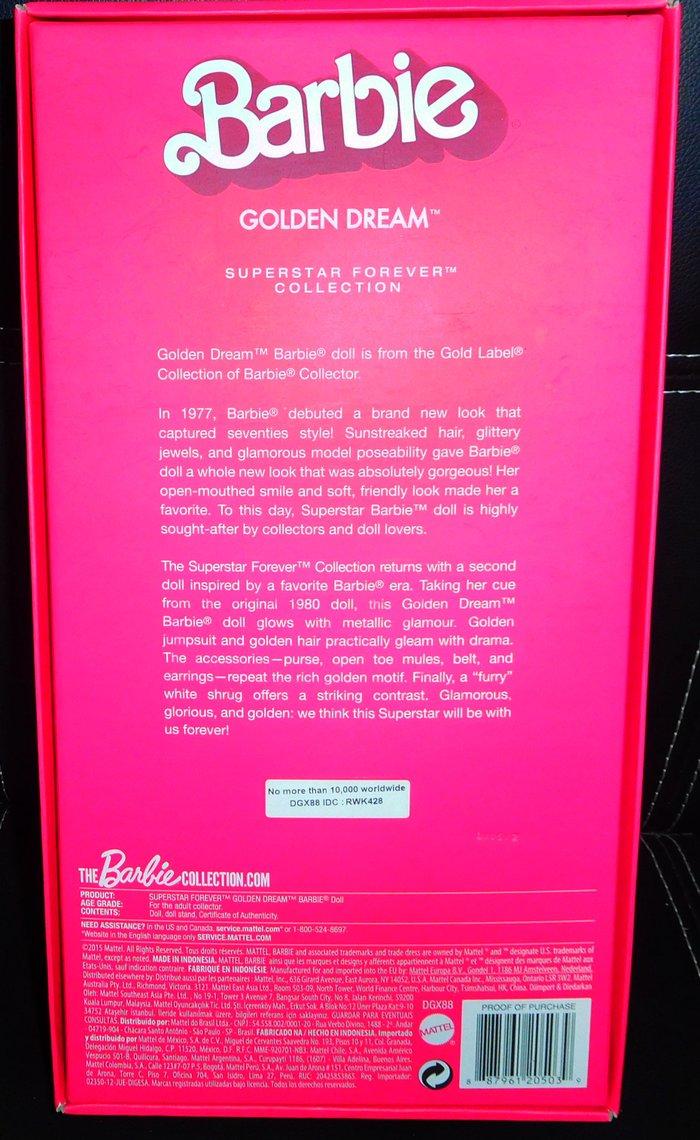 Συλλεκτικη' ''Barbie SUPERSTAR FOREVER GOLD LABEL COLLECTION. Photo 4