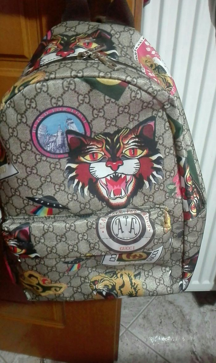 Backpack gucci replica. Photo 0