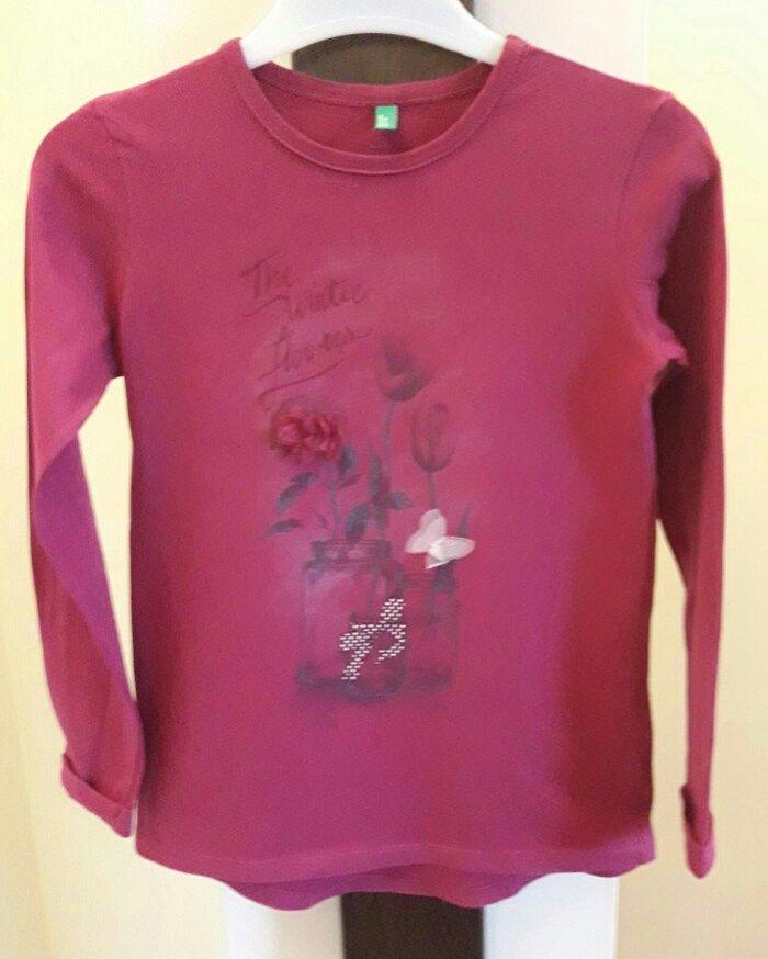 Benetton majica za devojcice,velicina 130 -pogledajte moj nalog- - Beograd