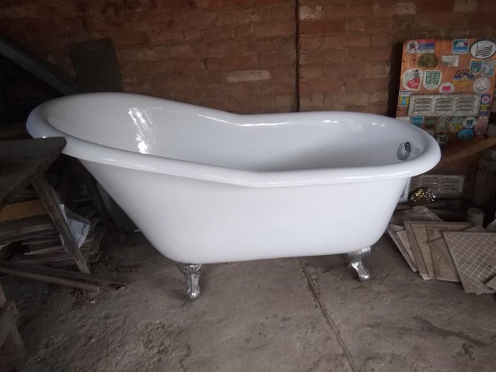 Новая ванна, не б/у. В отличном состоянии. Складское хранение. Photo 0
