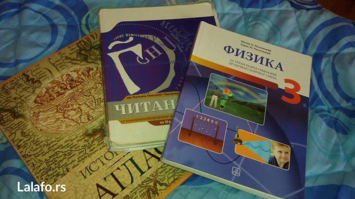 CITANKA-PRODATAA  Istorijski atlas 400,fizika za 3. Razred gimnazije - Beograd