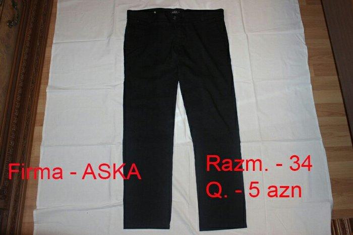 Bakı şəhərində Kişi üçün şalvar, təzədir,34 razm.5 AZN.