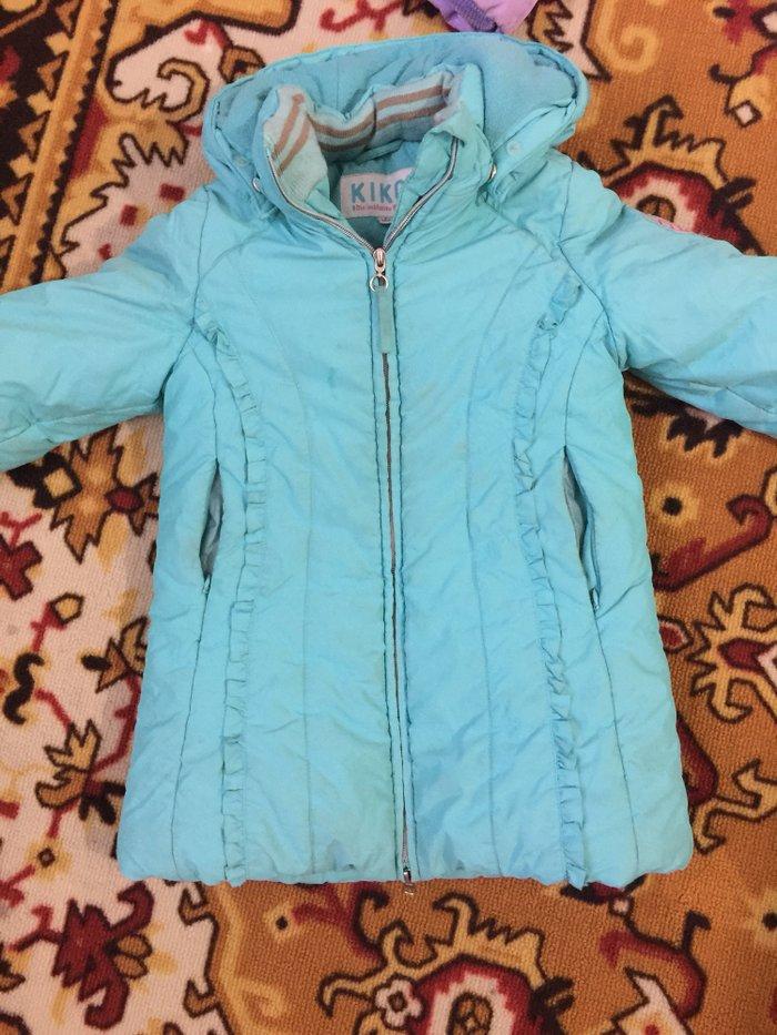 Куртка на девочку 4/5 лет. Состояние хорошее в Лебединовка