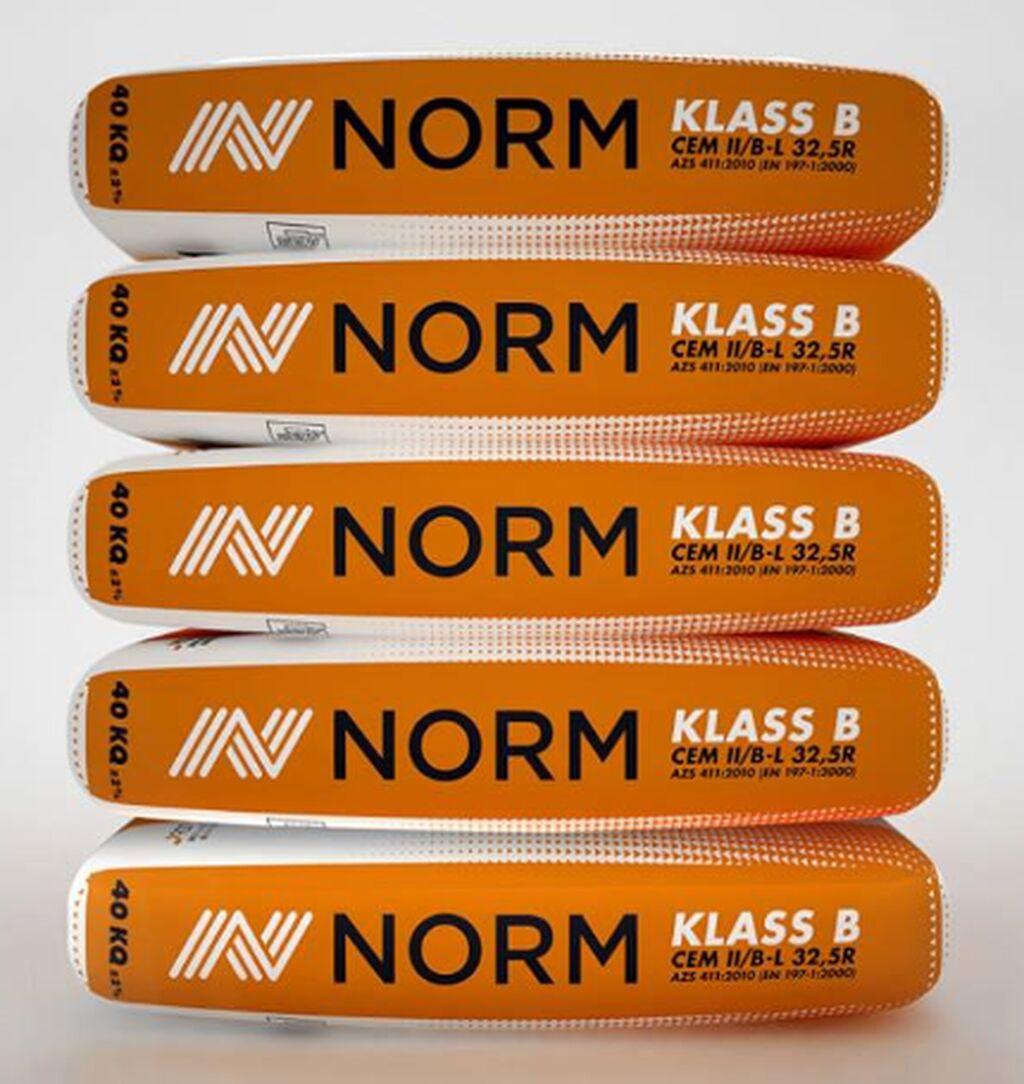 Norm B klass 300 marka Sement - 5,30 AZN 40 kisə Çatdırılma pulsuz