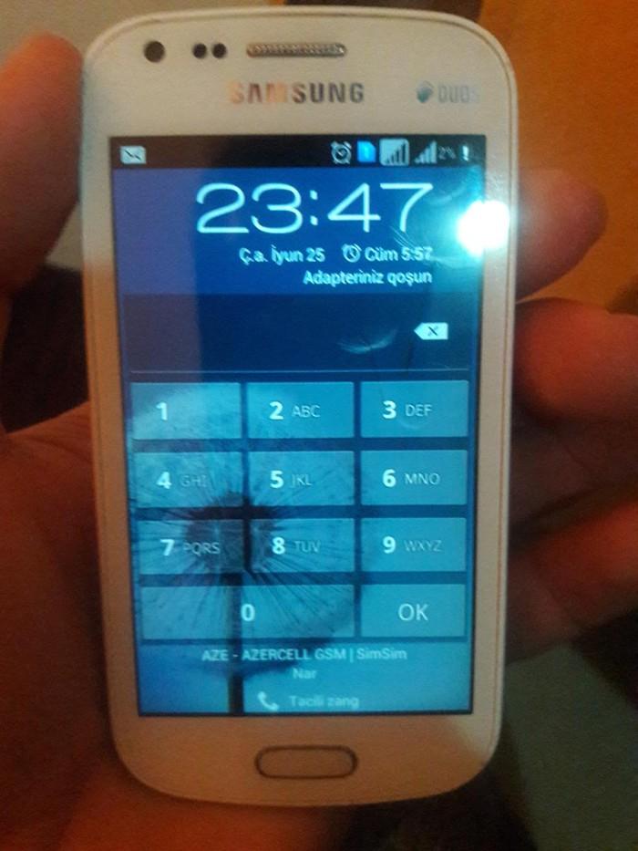 Б/у Samsung Белый. Photo 0