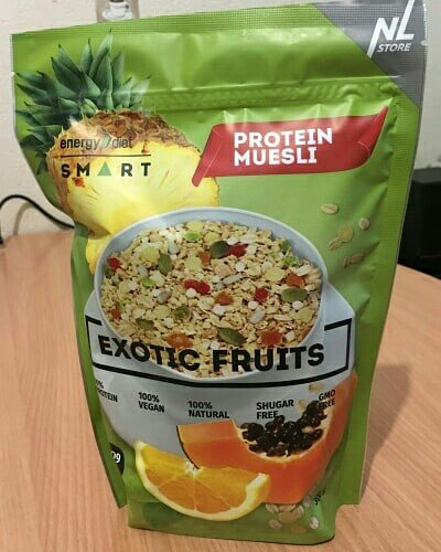 мюсли energy diet smart exotic fruits  мюсли с ананасом, апельсином и  в Бишкек