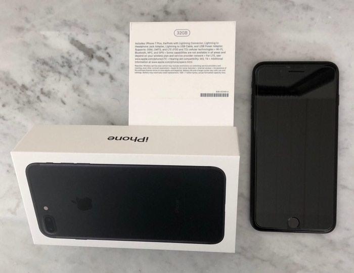 Apple iPhone 7 και 128GB - Jet Black. Photo 1