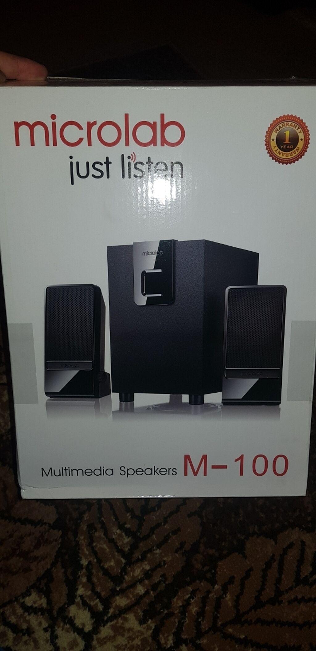 Колонки microlab m-100 новые обмен интересует: Колонки microlab m-100 новые обмен интересует