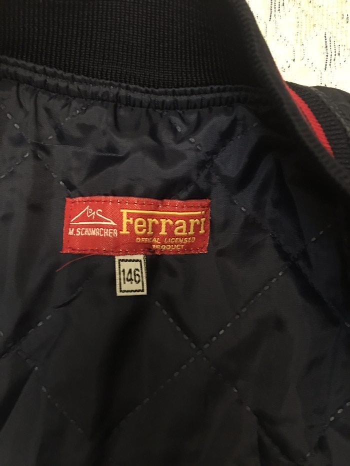 Kurtka vetrovka Ferrari . Photo 3