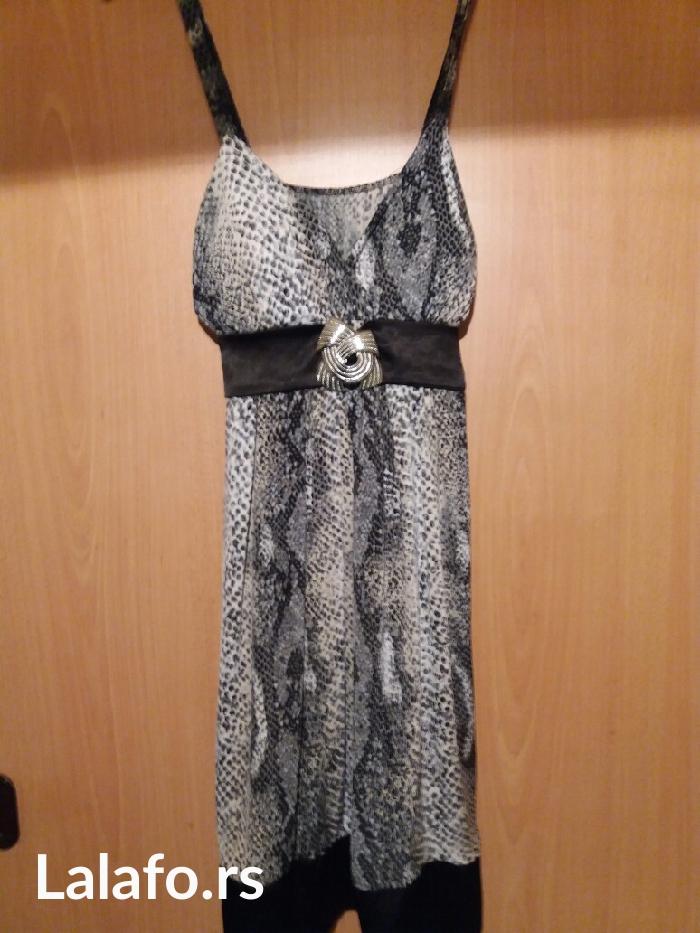 Samo nova haljina kupljena u italiji... Materijal prelep lagan za - Vrnjacka Banja
