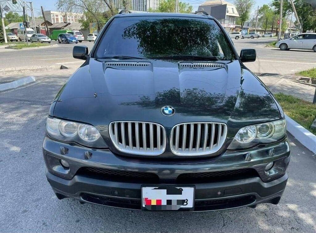 BMW X5 4.8 л. 2006: BMW X5 4.8 л. 2006