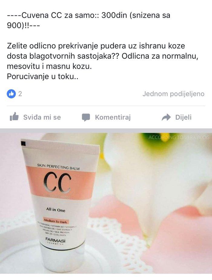Trazim saradnike za prodaju Farmasi-prirodne kozmetike .Uslovi - Novi Sad