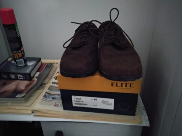 Ανδρικό δερμάτινο παπούτσι για περίπατο σε Άργος