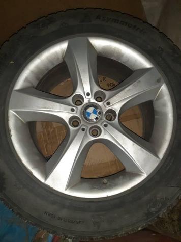Диски БМВ BMW X5 с зимней корейской резиной