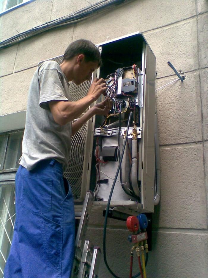 Ремонт и фирен заправить и очистьт кондиссонери в Душанбе