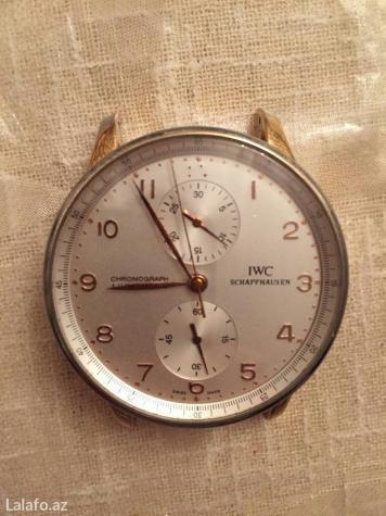 Mingəçevir şəhərində Продаю по запчастям ●○●《iwc schaffhausen chronograph automatic》 sahat