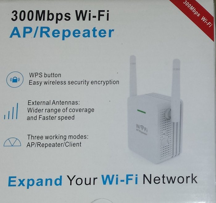 WIFI pojačivač signala/ Wi Fi repeater-extender 2 antene - Beograd