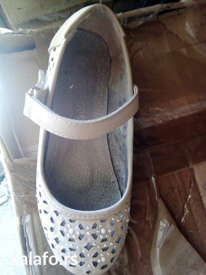 Letnje lagane sandalice,krem boje! Malo nošene,očuvane! Broj 31 Vaša p - Nis