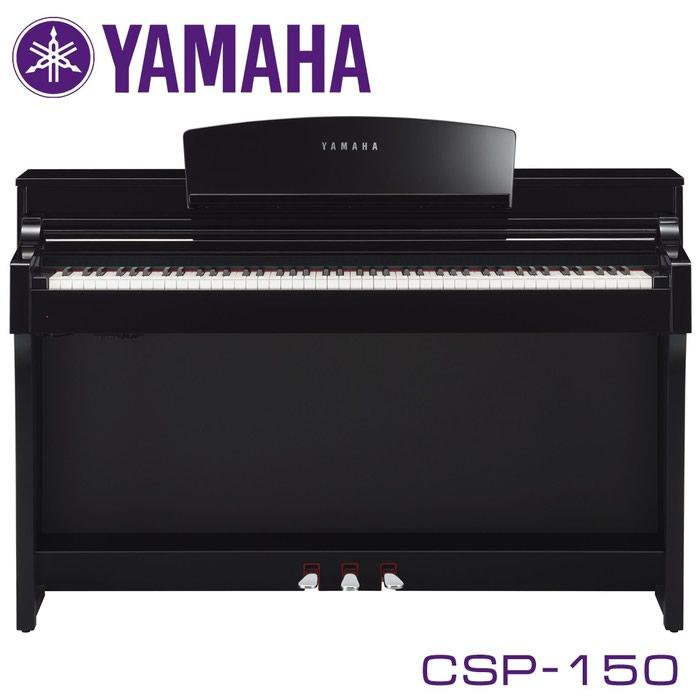 Фортепиано цифровое YAMAHA CSP-150WH - цифровое пианино из линейки Clavinova, модель 2017 года от знаменитого японского производителя