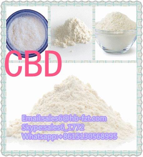 High purity Chinese CBD white powder,high quality and best price. Photo 1