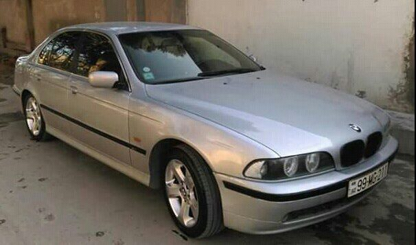 BMW 528 1997. Photo 4
