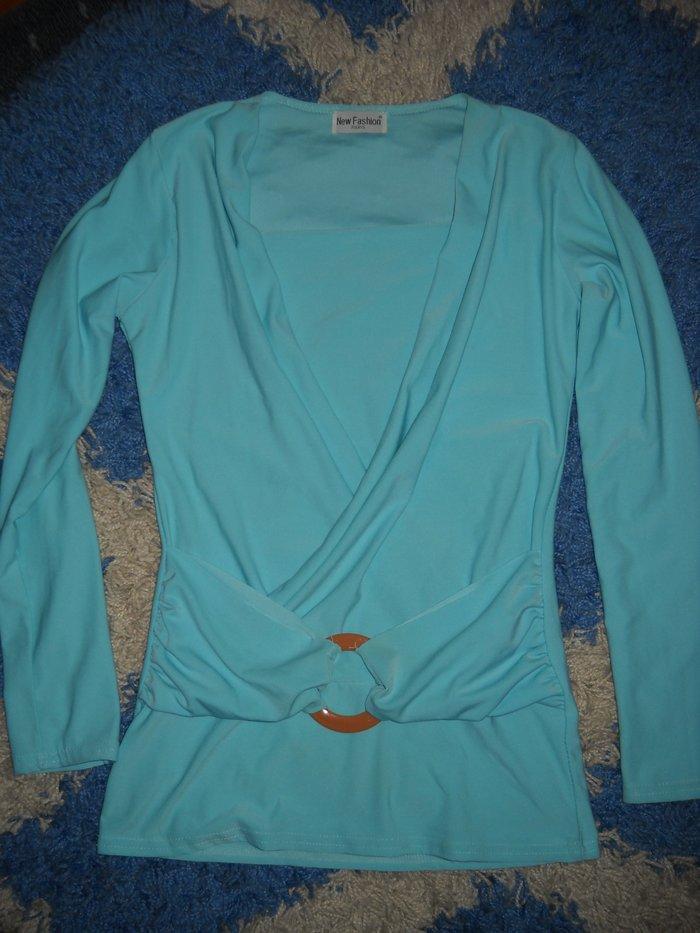 Nova tunika donesena iz pariza plave boje rastegljiva ve izraz je samo imitacija ima materijal koji je iste boje univerzalna velicina