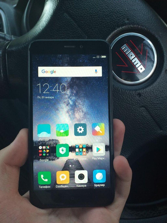 Б/у Xiaomi Redmi 4X 16 ГБ Черный