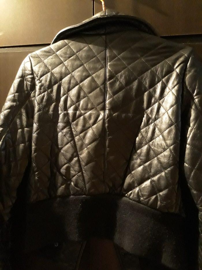 Δερματινο μπουφαν μεσατο σε αριστη κατασταση νουμερο small. Photo 4