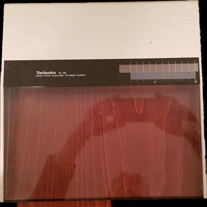 Poklopac za gramofon Technics SL-3,SL-Q5,SL-Q6