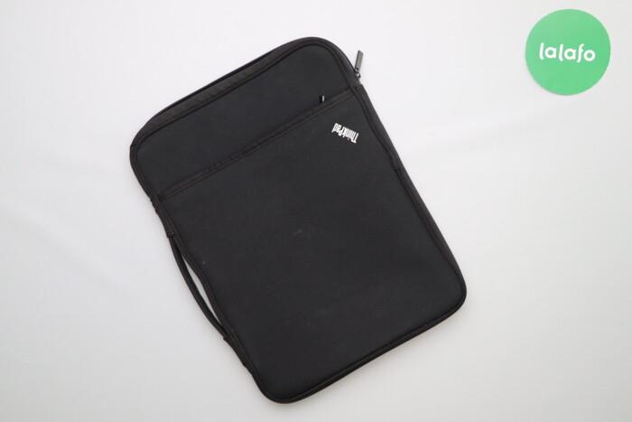 Чохол для ноутбука Lenovo ThinkPad    Колір: чорний Довжина: 36 см Шир: Чохол для ноутбука Lenovo ThinkPad    Колір: чорний Довжина: 36 см Шир