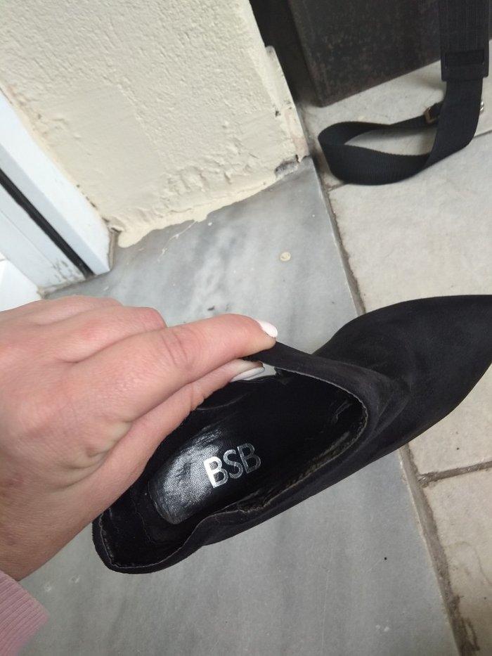 Μπότες. BSB  ελάχιστα φορεμένο δερμάτινο. Photo 3