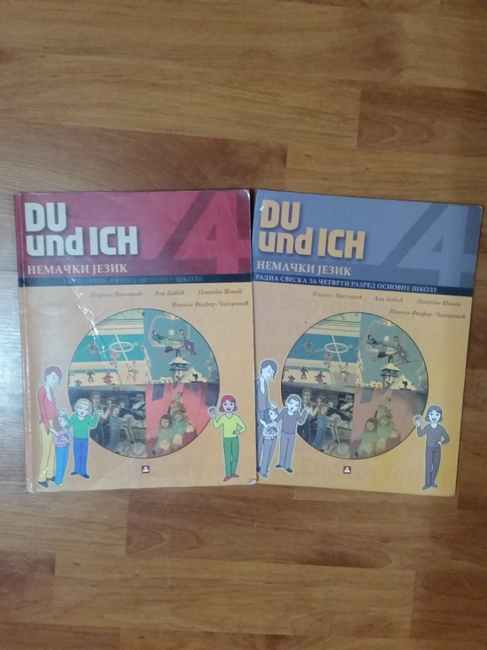 Nemacki jezik du und ich zavod za 4 razred - Indija