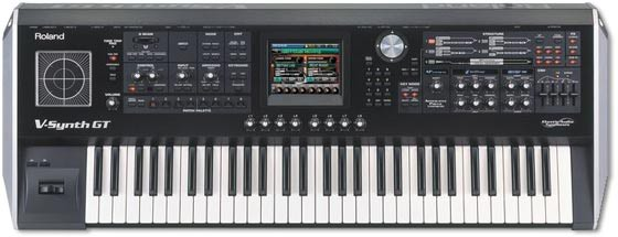 Roland V-synth Gt 61-key Variable Oscillator Synthesizer в Московский