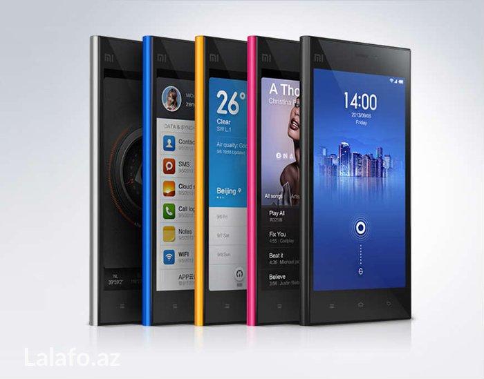"""Bakı şəhərində Xioami mi3 2gb ram 13mp yeniyeni. Qutuda. Xiaomi mi3 5. 0"""" ekranÇatd"""