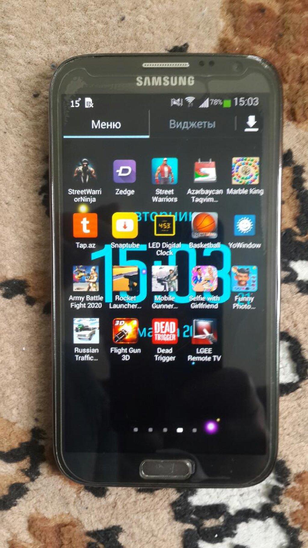 Yeni Samsung Galaxy Note 2 16 GB qara