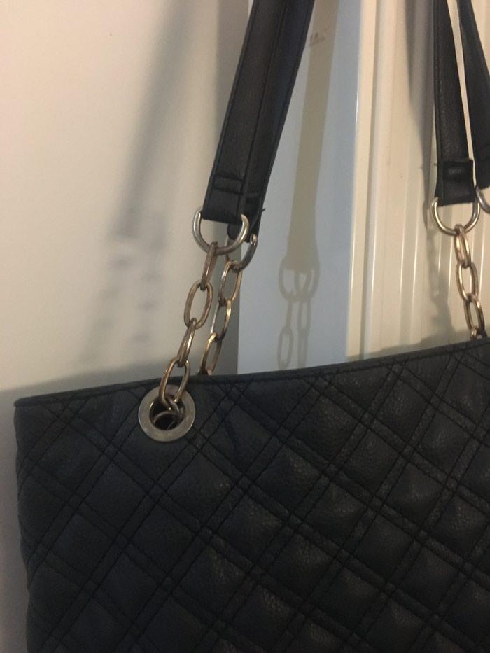 Μαυρη τσάντα αχρησιμοποιητη . Photo 2