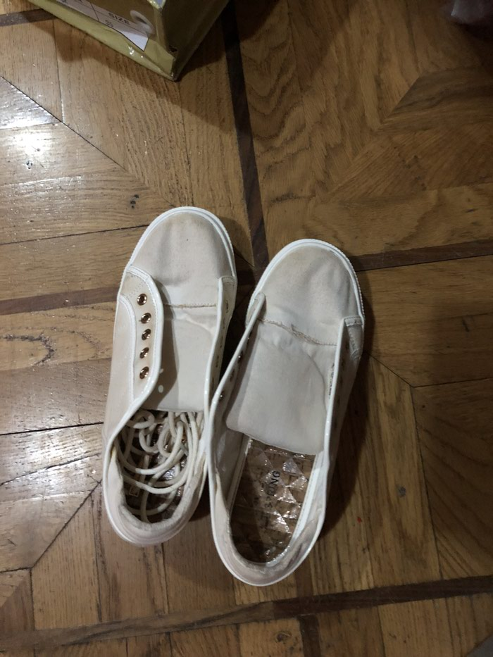 Кеды на плотформе со шнуровкой хорошего качества, 35-36 размер
