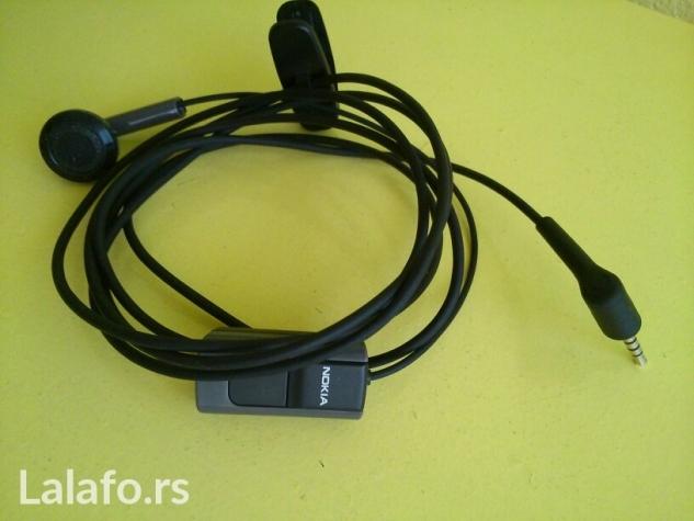 Nokia slušalice nove nekoriscene👍 🎧📼🎧📼 cena 550 din✔ - Beograd